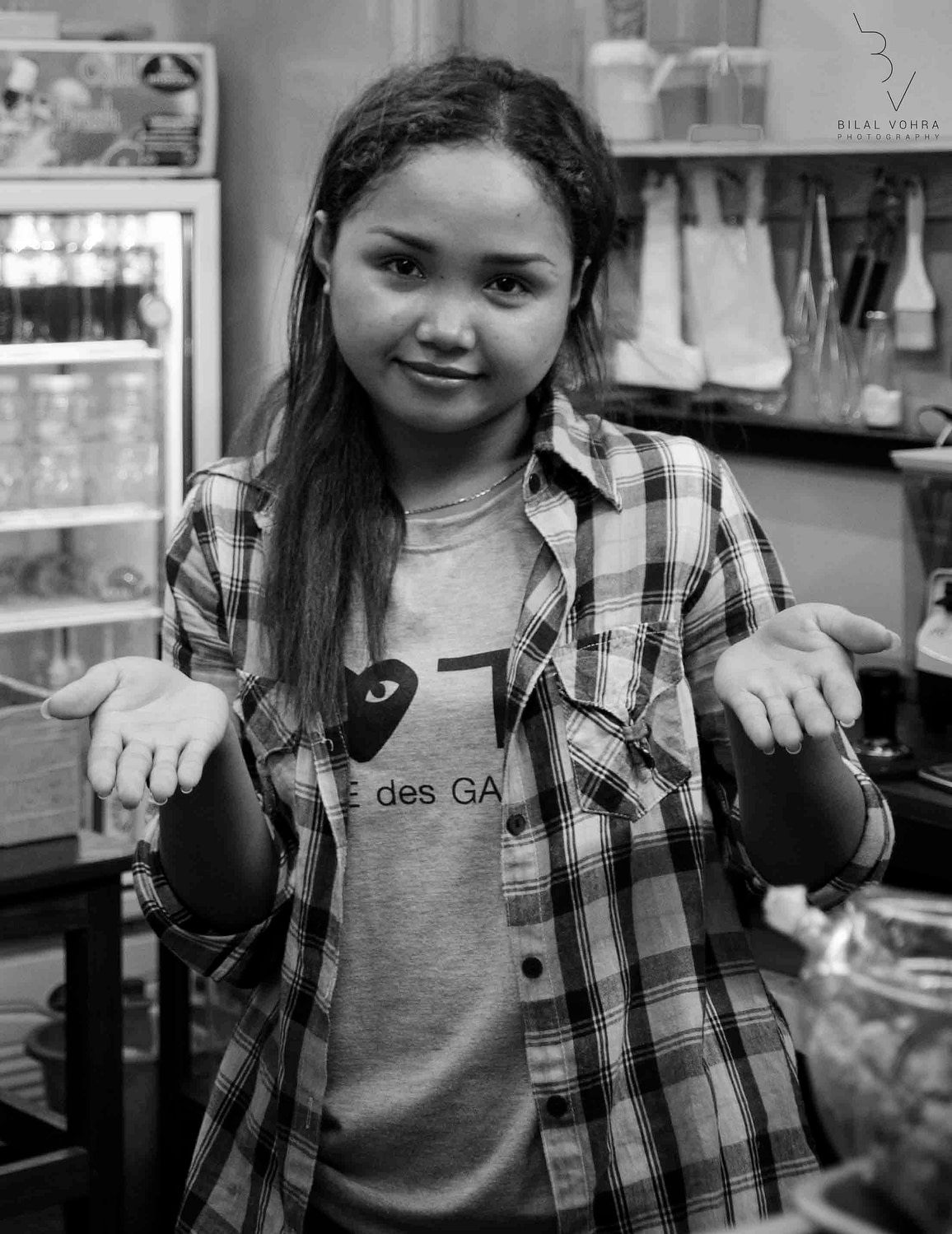 Portrait of a bakery owner in Chinatown Bangkok