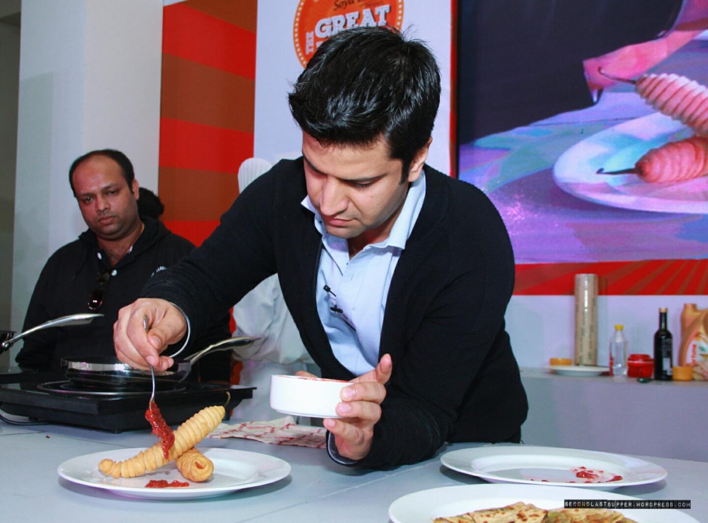 Chef Kunal Kapur in Delhi