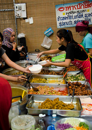 Halal street food in Bangkok