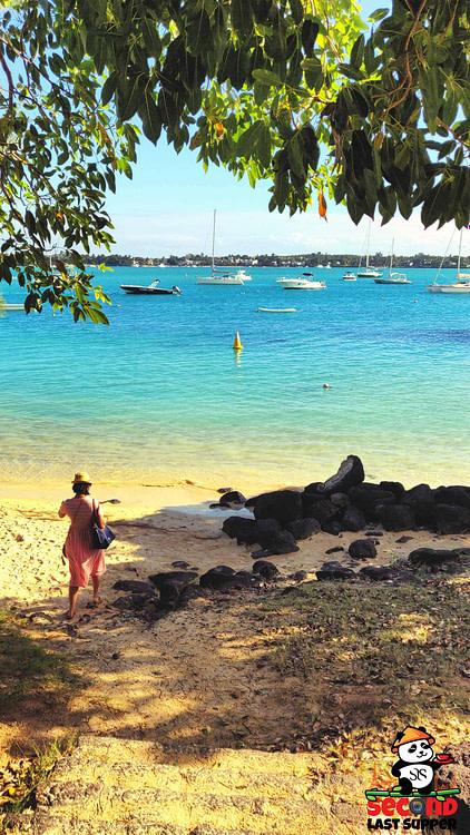 La Cuvette Beach in Grand Bay Northern Mauritius