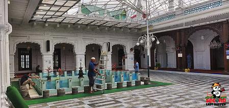 Inside Jummah Mosque Mauritius