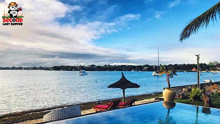 View from Ocean Villa Mauritius