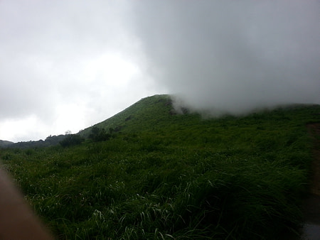 Clouds and rains in kerala