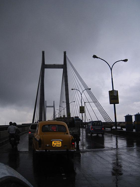 Hoogly Bridge Calcutta