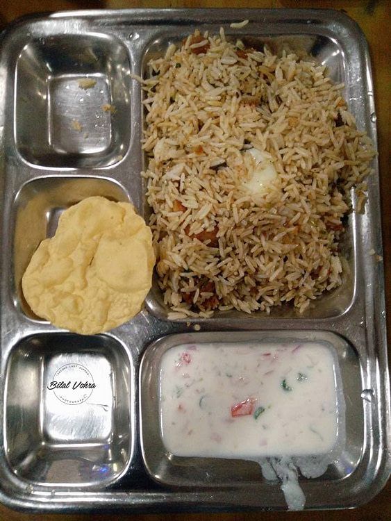 South Indian kacchi Biryani