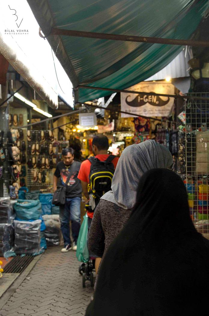 The Glory of Chatuchak in Display vs the Veiled Muslim Women