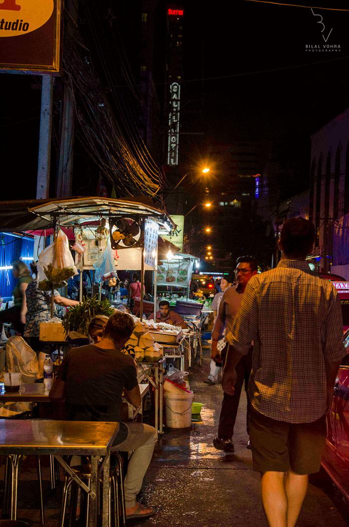 bangkok street food scene