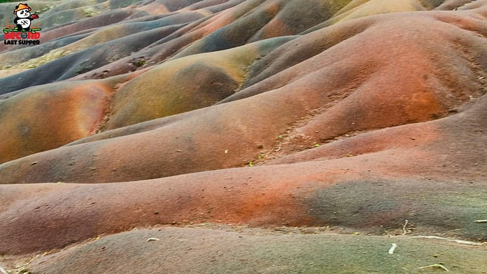 7 coloured earth at Chamarel