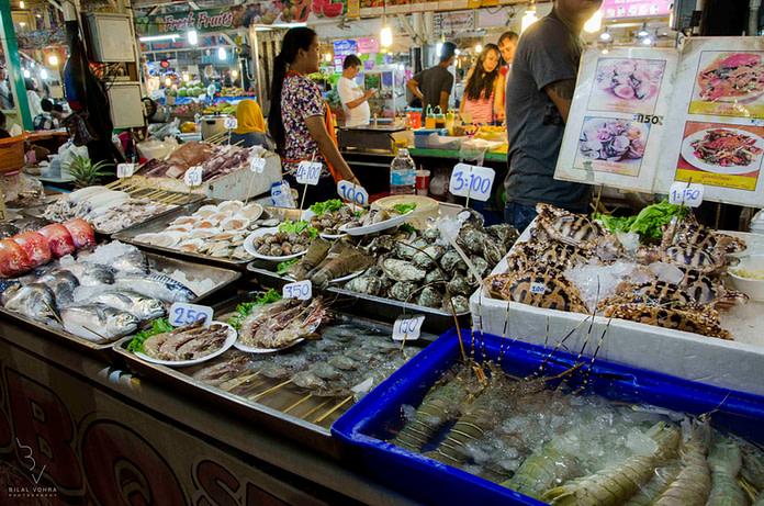 Best sea food in Thailand