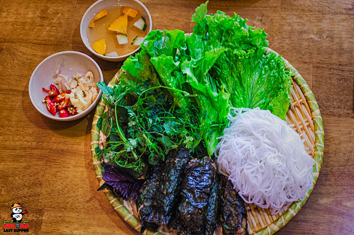 fresh Vietnamese food