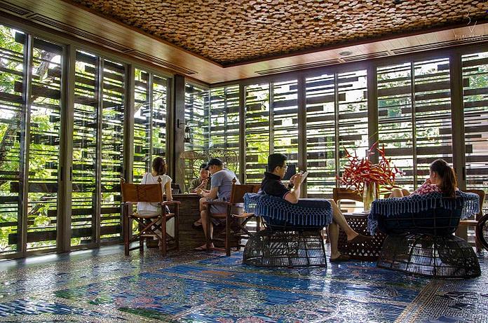 Seating Area of Keemala Resort Phuket