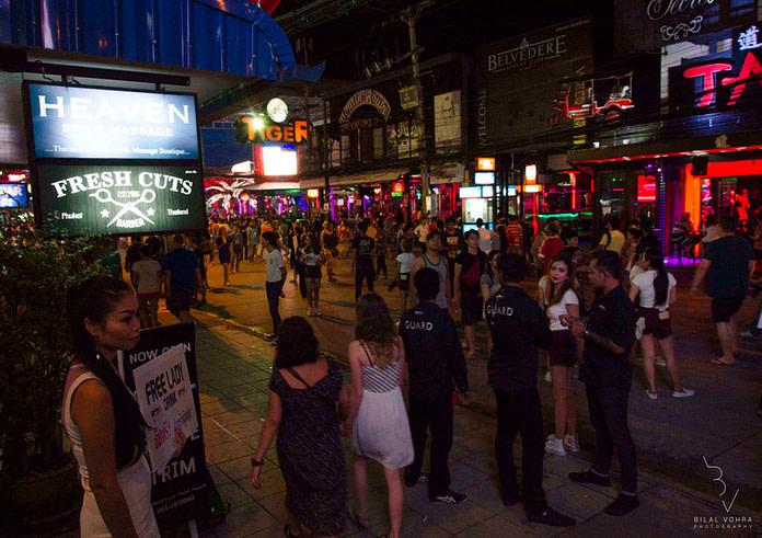 late night fun in phuket thailand