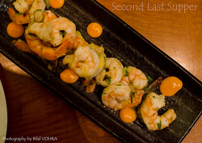 beautiful prawn dish