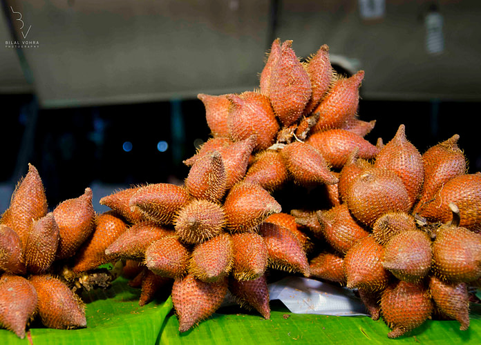 strange asian fruits