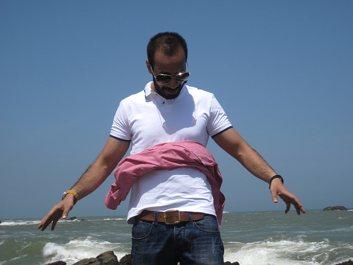 Super strong winds at cape comorin