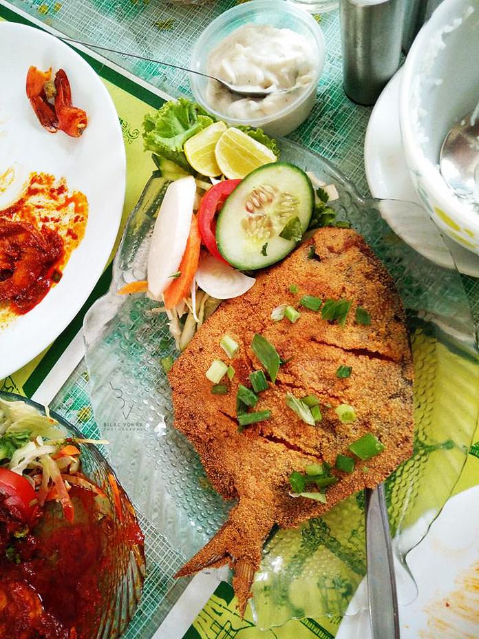 Fish Fry at Goa Canteen